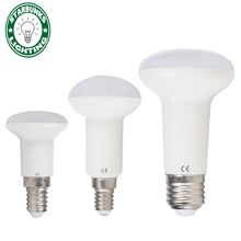 led e27 LED Light Bulb Lamp high R39 R50 R63 E14 bulb E27 5W 9W 12W 220V 230V 240V Spotlight Umbrella(China)