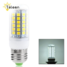 TSLEEN LED Lamp 220V E27 Corn Led Lamp Led Light Bulb Outdoor Lampen Lamparas Lampada cob Led E27 E14 B22 G9 White Warmwhite(China)