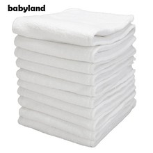 88 PCS ORIGINAL BABYLAND GOOD QUALITY 3 LAYERS MICROFIBER INSERTS FOR CLOTH DIAPERS(China)