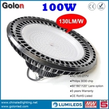 Good price Factory warehouse workshop store supermarket shopping mall exhibition station sport courts high bay LED 100W