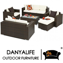 DYSF-D6701 Danyalife 5 Stars Hotel Outdoor Poly Rattan Furniture(China)