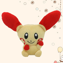 New Pikachu Plush XY Toy 11CM Positive and negative Pikachu Animal Dolls Children Toys ,Cut Plush Toys For Kids Gift(China)