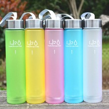 280ML Unbreakable Plastic Water Bottle Portable Bottle for Water Travel Outdoor Bicycle Cycling Camping Drink Bottles(China)