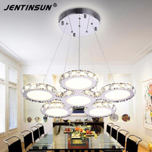 Factory wholesale New design 78W modern crystal Lamps dining-room-crystal light  Pendant Lights
