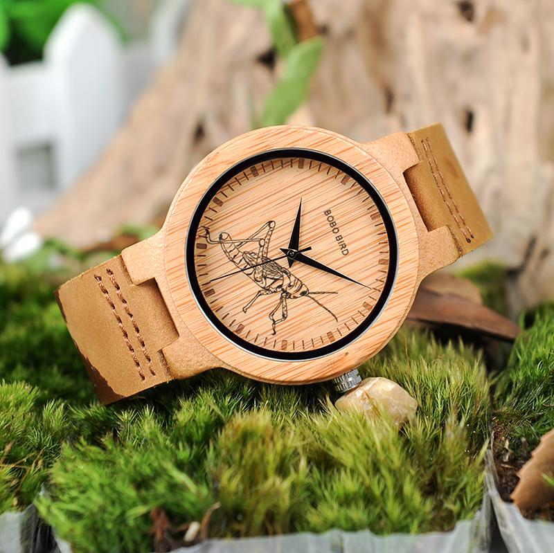 wooden men wrist watches for men bobo bird (10)