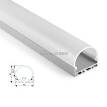10 X1 M Sets/Lot Home design aluminum profile led strip light and alu led extrusion for ceiling or recessed wall lights