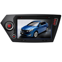 NAVITOPIA 2016 Top Auto Radio Wince Car Multimedia DVD Auto Player For KIA K2 2011- / Rio 2012- With GPS Navi BT Free Map