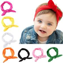 Rabbit Headband Girls Headbands Bow Rabbit Head Wear Photograph Tools Girl Accessories Head Wraps Acessorios Para Cabelo