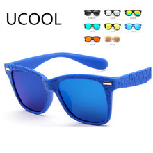UCOOL Fashion Sunglasses Love Heart-shaped Cute Baby Girls Kids Sunglasses Glass Child Goggles Eyewear Rated(China)