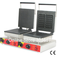 Square waffle maker machine commercial restaurant equipment for sale(China)