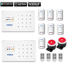 English Voice GSM Autodial Home Security Fire Alarm System+iOS App/ Android App Alarmes
