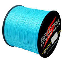 SPECTRA Power Pro 500M Braided Fishing Line 4 Strands Super Strong Japan Multifilament PE Braided Fishing Line 10-60LB