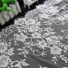 72cmX 3Meters Manufacturers Spot explosion models significantly eyelash lace fabric DIY clothing accessories LW0053