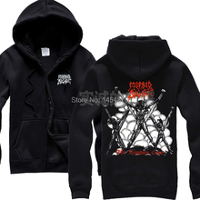 3 kinds Harajuku Morbid Angel Band Cotton Rock Hoodies Winter jacket hardrock Death Punk Black Metal Sweatshirt poleras(China)