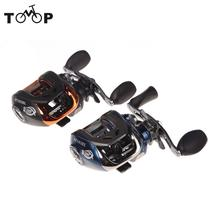 10+1BB Ball Bearings Left/Right Hand Bait Casting Carp Fishing Reel High Speed Baitcasting Pesca 6.3:1 AF103