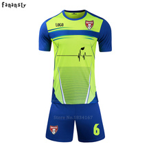 Survetement football 2017 men DIY soccer uniforms tracksuits cheap football kit college custom soccer jerseys new(China)