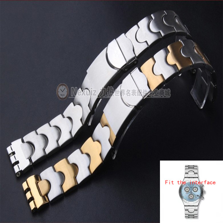 Stainless steel watch bracelet for brand men woman watches ycs408G 17mm 19mm folding clasp special interface<br><br>Aliexpress