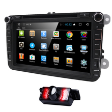 Newest HD 1024*600 8''2din Pure Android 6.0 Car DVD Player for VW SAGITAR/JATTA/ JETTA for VW MAGOTAN/PASSAT B6 WIFI/4G Rear Cam(China)