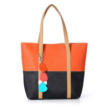 Sweet Blend Candy Color New Fashion Women Leather Handbags Shoulder Bag Sac A Main Marques Bolsos Mujer