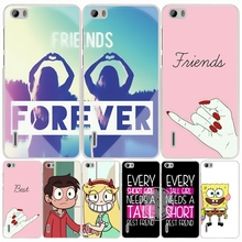 best friend forever lovers couple cell phone Cover Case for huawei honor 3C 4A 4X 4C 5X 6 7 8 Y6 Y5 2 II Y560