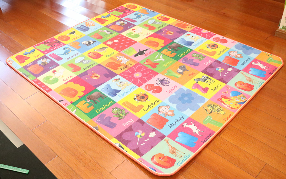10 mm Thick Double Sides Children Play Mat Waterproof Kids Beach Picnic Mat Soft Eva Foam Carpet Rug Baby Crawling Mat Baby Toy 44