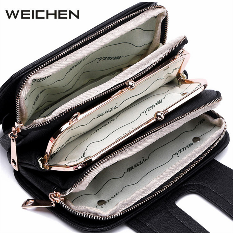 Black Classic Vintage Women Shoulder Bags PU Leather Small Crossbody Bag Chains Female Messenger Bags Fashion Hasp Ladies Bag<br>