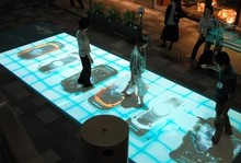DefiLabs Free delivery cost of interactive floor/wall system,3D interactive projection display system
