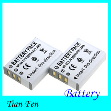 New Hot Sale 2pcs Battery NP-95 NP 95 Rechargeable Camera Battery For FUJIFILM FinePix F30 F31fd Real 3D W1 X-S1 X100 X100s