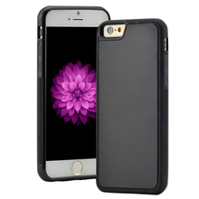 Antigravity TPU Frame Magical Anti gravity Nano Suction Cover Adsorbed car Hard Case Shell For iPhone 5S