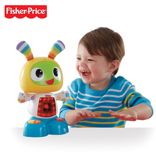 Free Fisher Price Interactive Fun Music Learning Sing Dance Expert Audrey Fisher Musical Baby Move Dolls Toys DLM53(China)