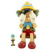 Pincocchio & Jiminy Cricket Action Figure 1/6 scale painted figure Standing & Sitting Ver. Pincocchio Doll PVC figure Toys Anime(China)