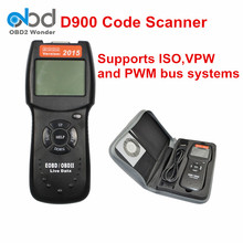 New Generation Code Reader D900 EOBD OBD2 Auto Code Reader Diagnostic Tool D900 OBD2 For Multi-Cars Free Shipping