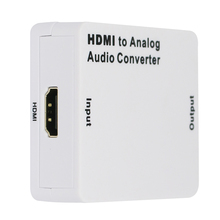 2016 New HDMI Digital to R/L Analog Audio Composite RCA/Headphone Output Converter L3FE