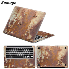 Marble Grain Full Body Cover Laptop Stickers for Apple Macbook Air Pro Retina 11 13 15 Computer Stickers for Macbook Pro 13 Skin