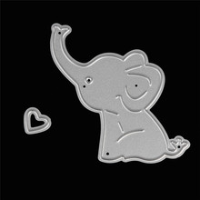 Metal Dies Bird elephant tree girl boy boy chicken dog animal Cutting Stencil For DIY Scrapbooking Album Paper Card Decor Craft