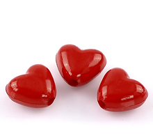 Buy DoreenBeads Acrylic Charm Beads Love Heart Red 11x10mm,50PCs 2015 new for $1.08 in AliExpress store