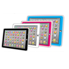 English language ABC alphabet letter word number Ypad learning machine,10pcs/lot multifunction toy tablet computer for all kid(China)