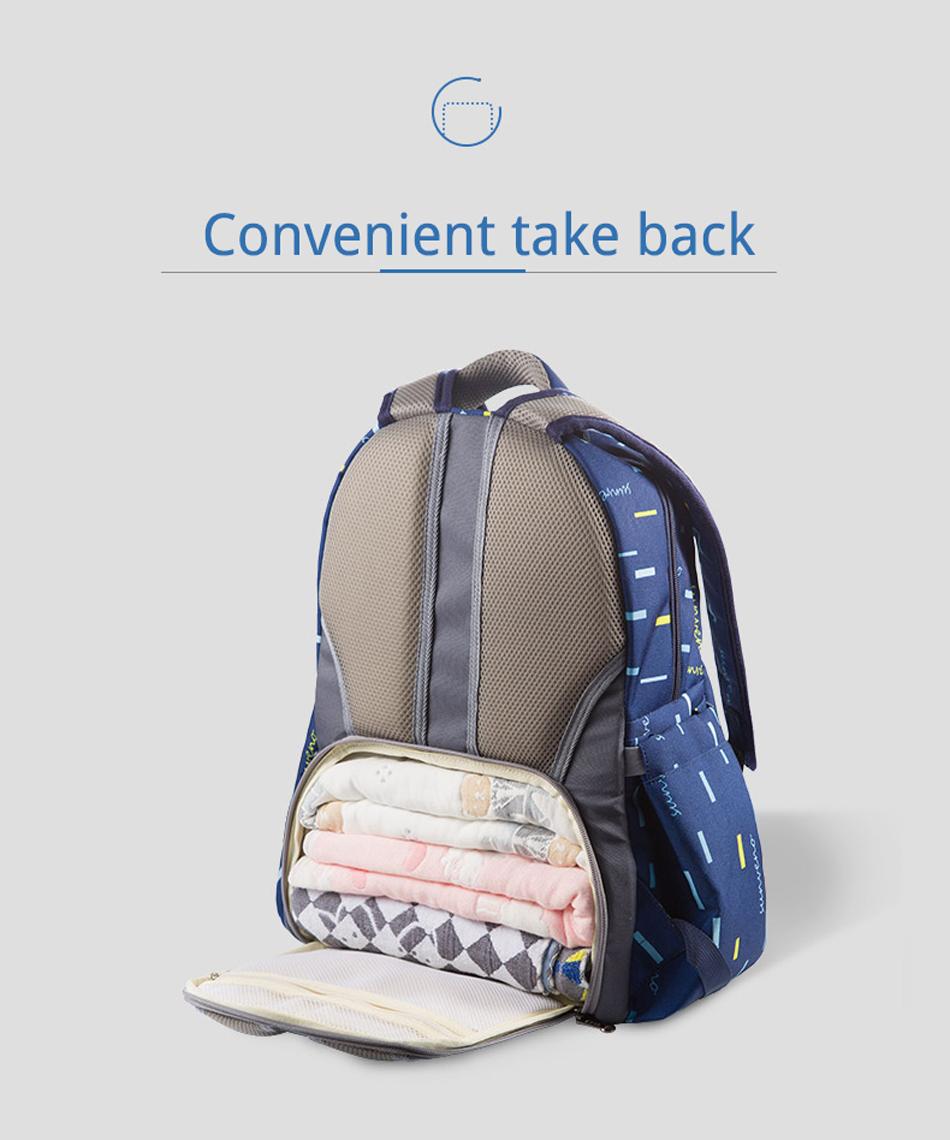 SUNVENO حقيبة مستلزمات الطفل 10