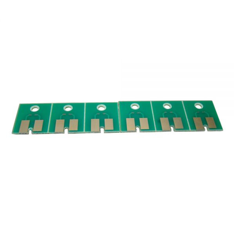 6pcs / set CMYKLCLM Permanent Aqueous FPG Chips For Roland FH-740<br>