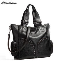 2017 Brand Designer Women Hobos Handbags Imported Pu Leather Top-handle Tote Purse Bags Women Fashion Crossbody Messenger Bags