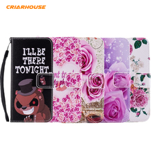 New Butterfly Skeleton Painting Leather Flip Wallet Cover Case For SAMSUNG GALAXY J1 J3 J5 J7 2016 A3 A5 A7 2015 A510 Capa Funda(China)