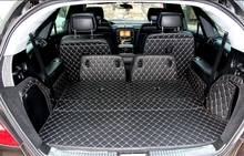 Newly! Special trunk mats for Mercedes Benz R 63 W251 2015-2006 waterproof luggage mat boot carpets for R63 2012,Free shipping