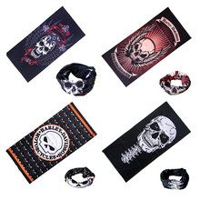 Skull Scarf Sport Bicycle Motorcycle Bandana Scarf Headband Variety Turban Hood Magic Veil Headwear