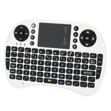 2.4G Mini Wireless Gaming Keyboard Touchpad Fly Air Mouse Built-in Battery Remote Control for PS3 XBox360 Android PC Windows TV(China)