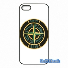 Stone Island Logo Hard Phone Case Cover For Apple iPod Touch 4 5 6 For iPhone 4 4S 5 5S 5C SE 6 6S Plus 4.7 5.5
