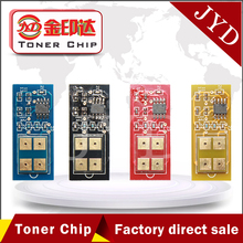 8pcs clp600a clp 600 toner cartridge chip compatible for Samsung clp-600 clp-600n clp-650 color printer reset chips(China)