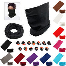 New Trendy Neck Tube Warmer Beanie Snood Head scarf Women Men Scarves Face Mesh Bandanas Hip Hop Headwear Beanie balaclava(China)