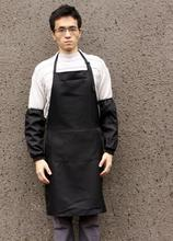 Waiter work apron simple  hotel restaurant cafe pinafore and Sleeves supplies custom logo worker waiter dress