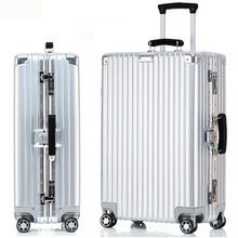 20,24,26,29 inch men and women aluminium frame  luggage SALSA AIR suitcase steering wheels