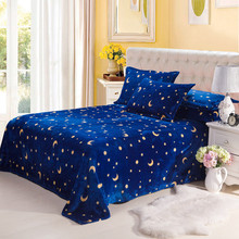 Star couverture polaire flag Coral Fleece Blanket on Bed fabric cobertor mantas  Plush Towel Air Condition Sleep Cover bedding